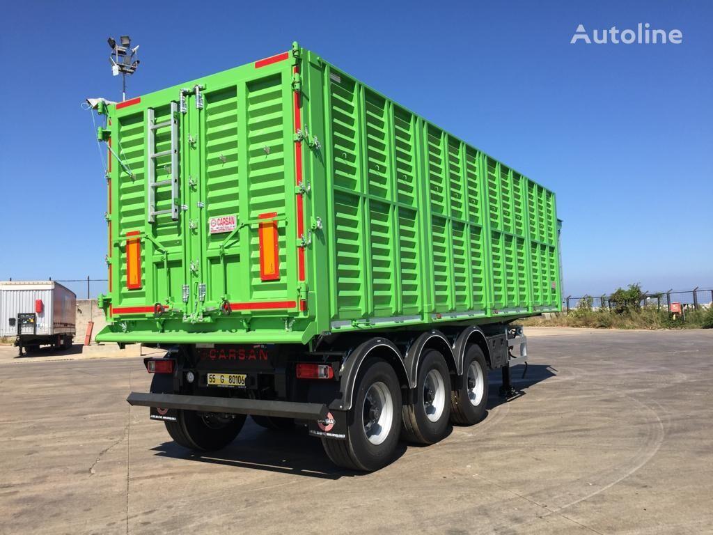 new CARSAN 2019 grain semi-trailer