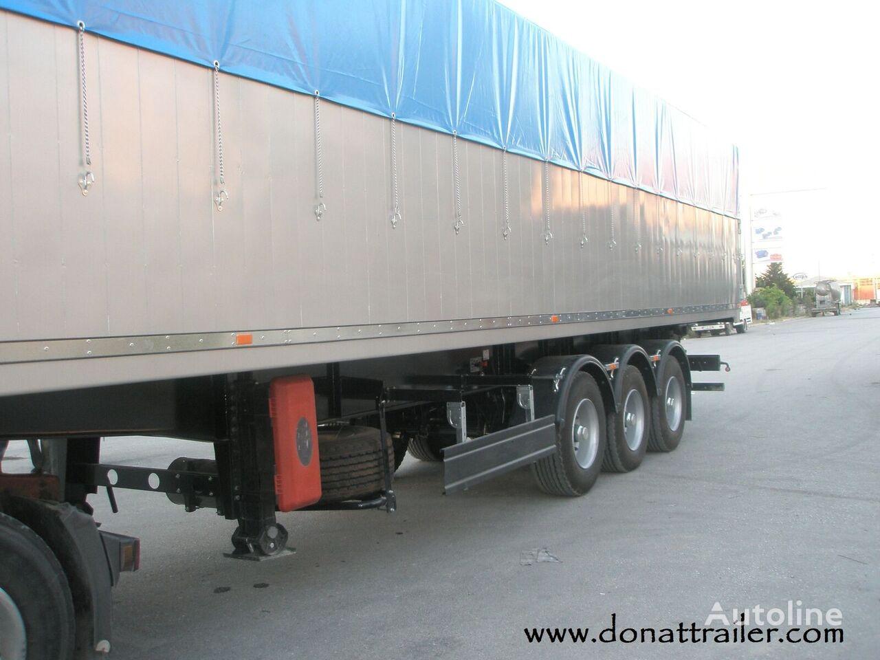 new DONAT Grain Tipper - based on demands grain semi-trailer