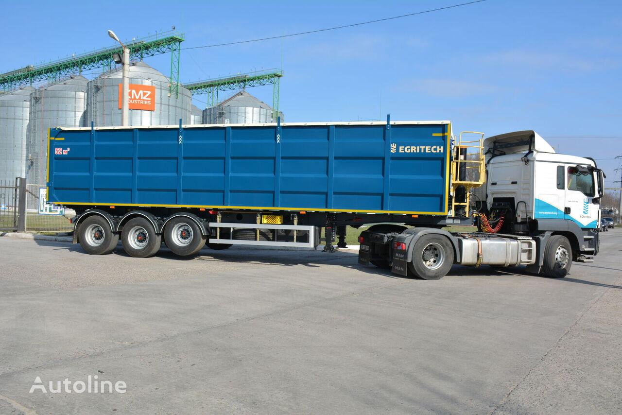 new EGRITECH NPS 2650 grain semi-trailer