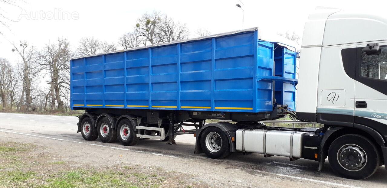 Inter Cars grain semi-trailer