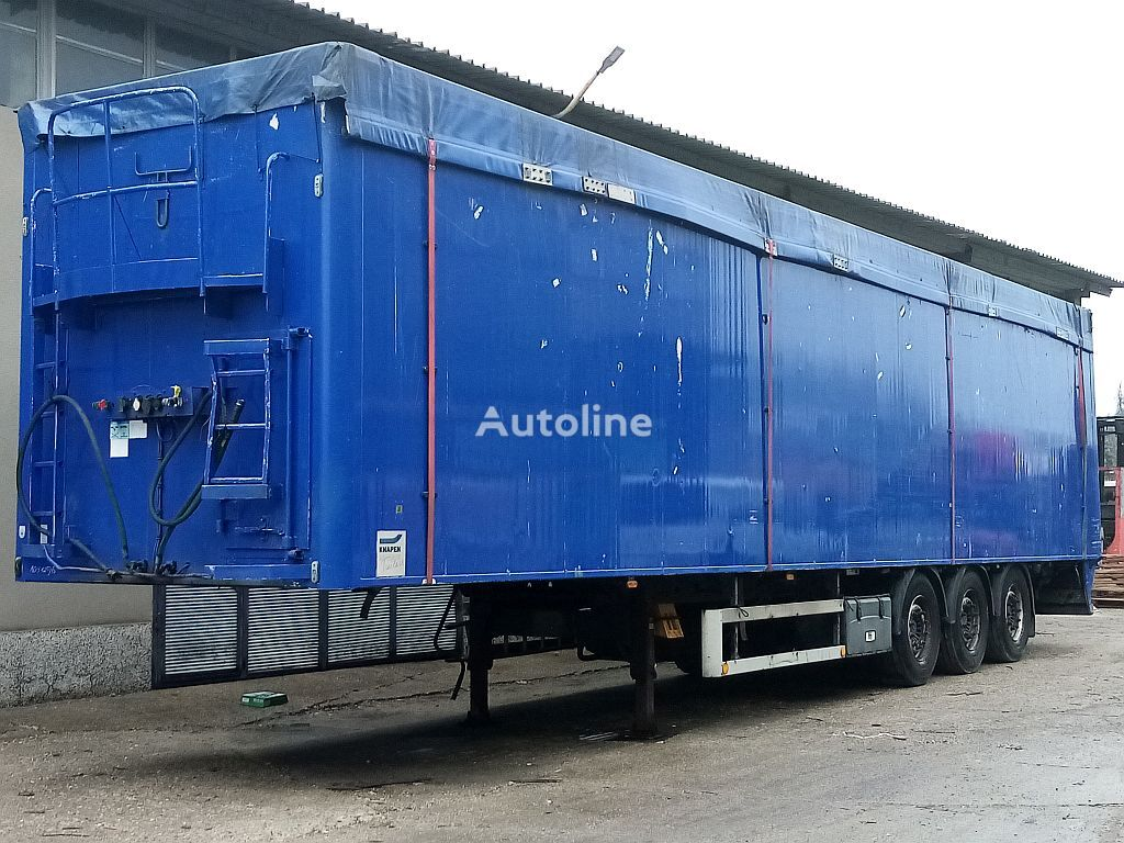 KNAPEN K100-SCHUBBODEN, Lift Achse grain semi-trailer