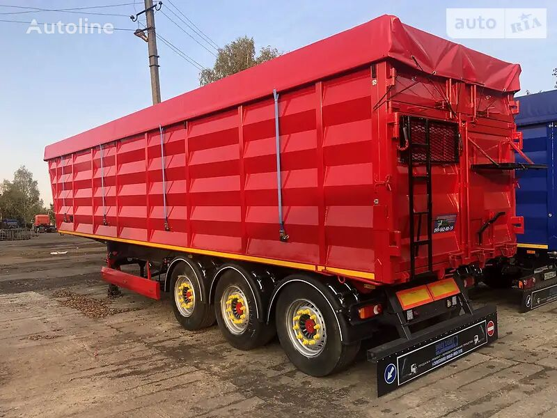 new KRONE grain semi-trailer