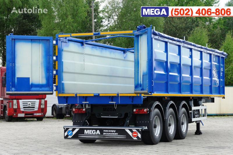 new MEGA 38/10200 KD pama k tyagachu 6x4 grain semi-trailer