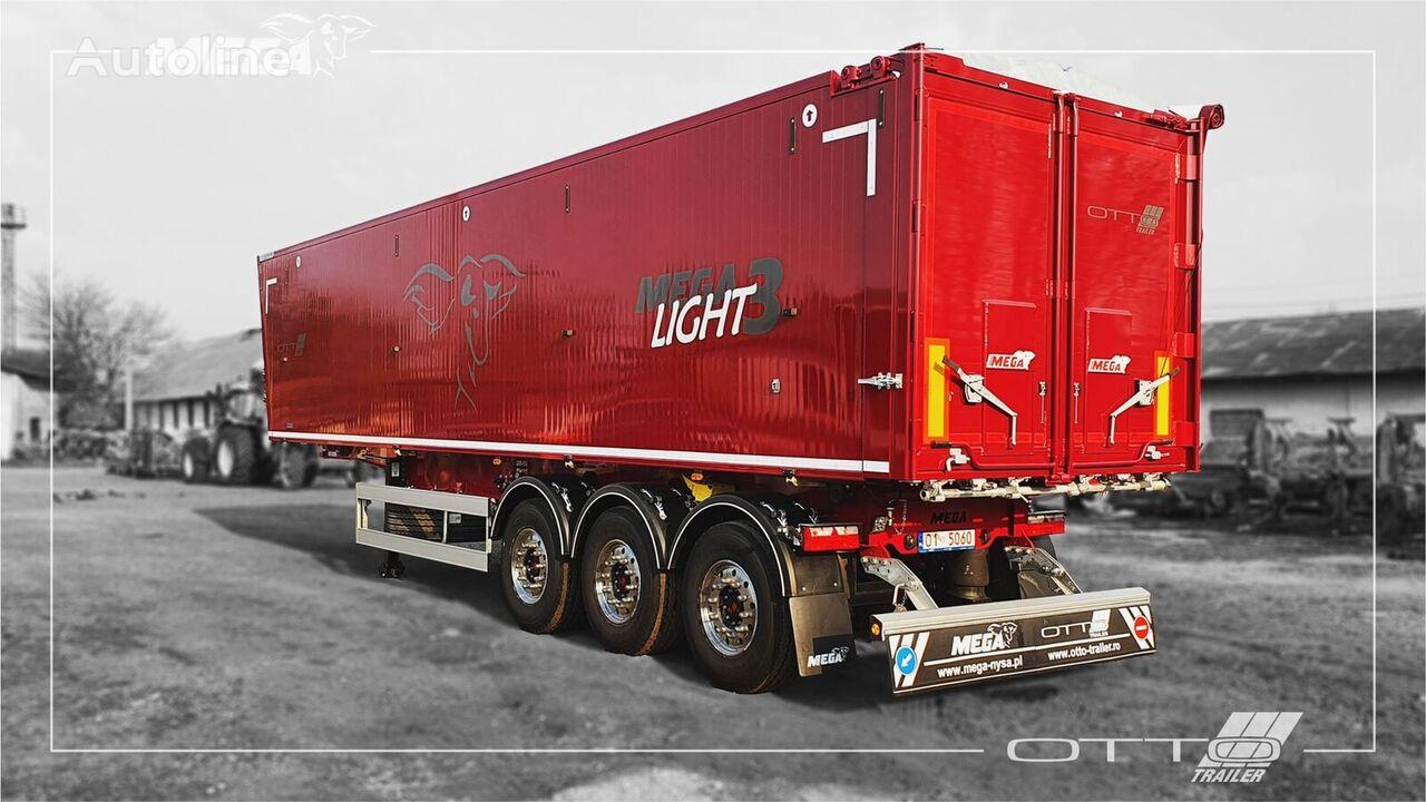 new MEGA 50 - 55 - 60 Light3 grain semi-trailer
