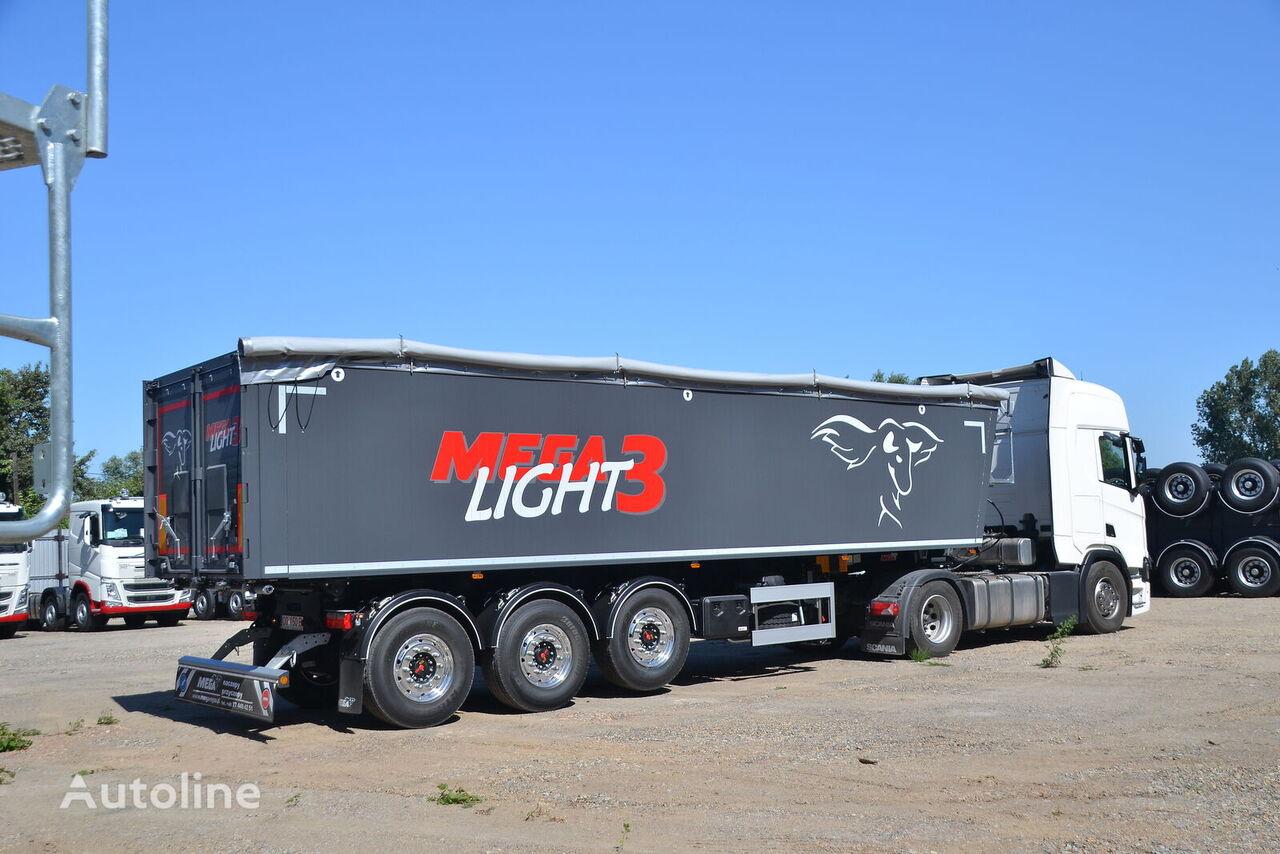 new MEGA LIGHT 3. beznalichnyy raschet s NDC, lizing,garantiya. grain semi-trailer