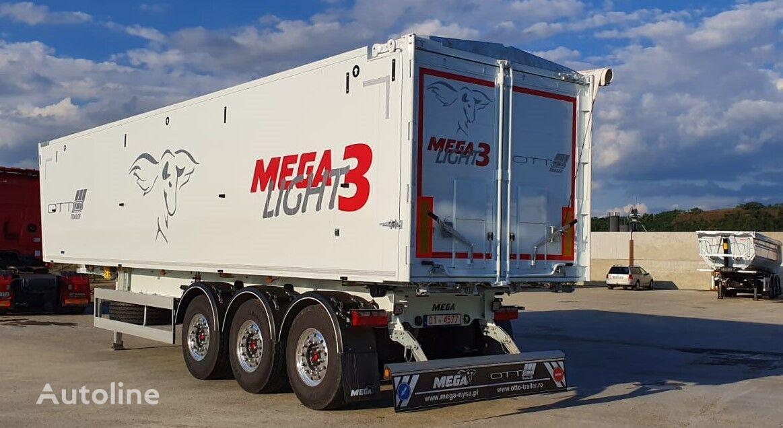 new MEGA Light3 55 mc (RO) grain semi-trailer
