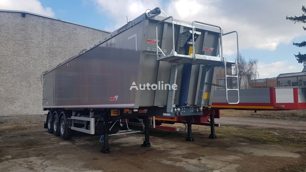 new MEGA TYPE MNL Alu tipper grain semi-trailer