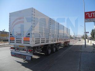 new Ozmen Damper With Side Doors and Extensions grain semi-trailer