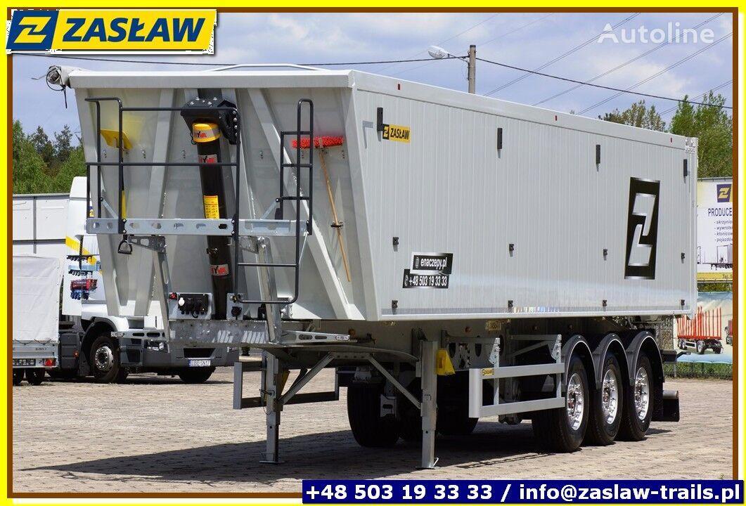 ZASŁAW 50 m³ - 6.190 kg LighT tipping semi-trailer 2 x GRAIN HOLE READY grain semi-trailer