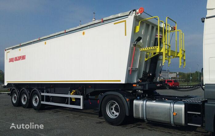 new ZAVOD KOBZARENKA grain semi-trailer
