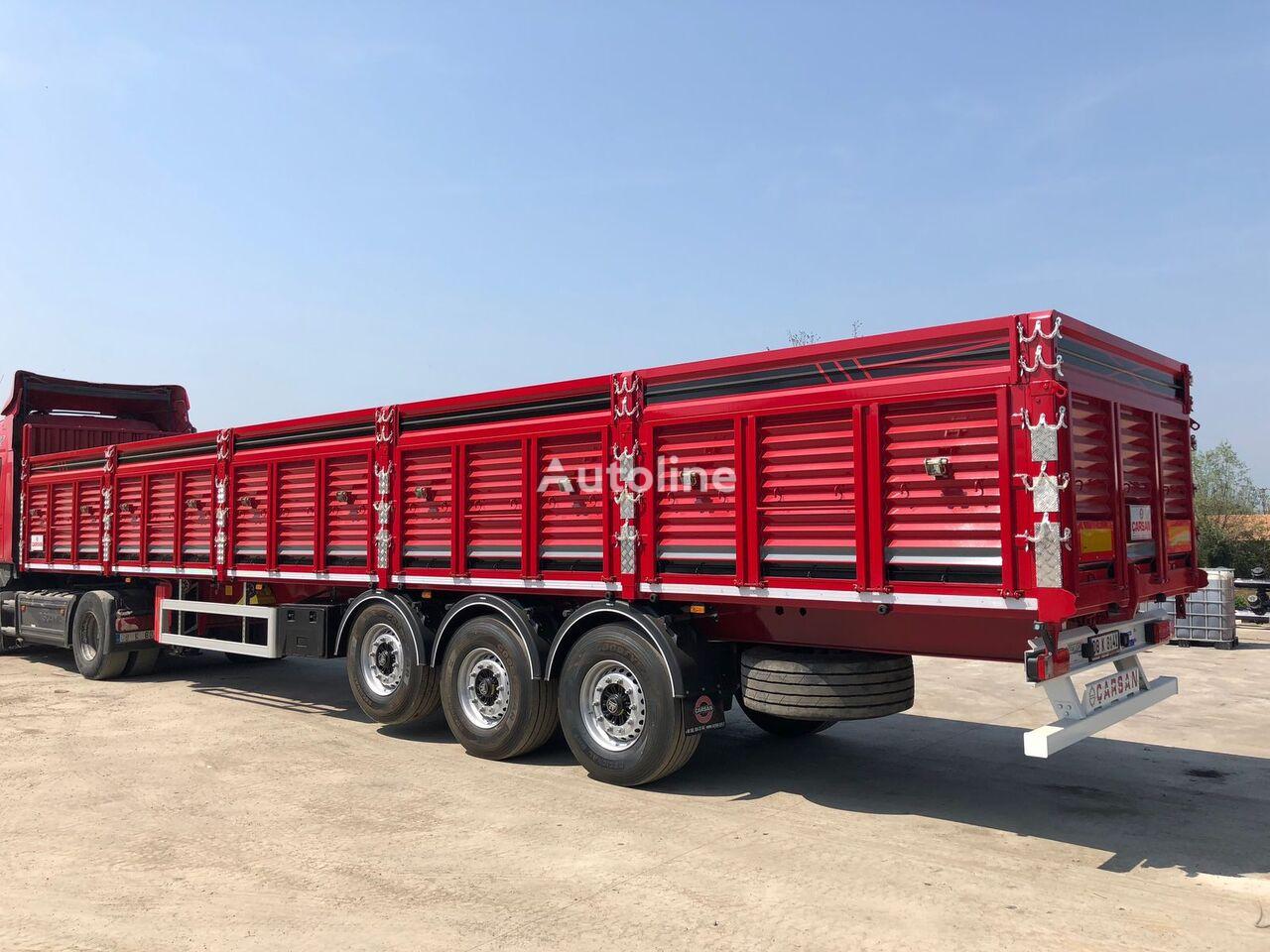 new CARSAN CTS21 grain truck semi-trailer