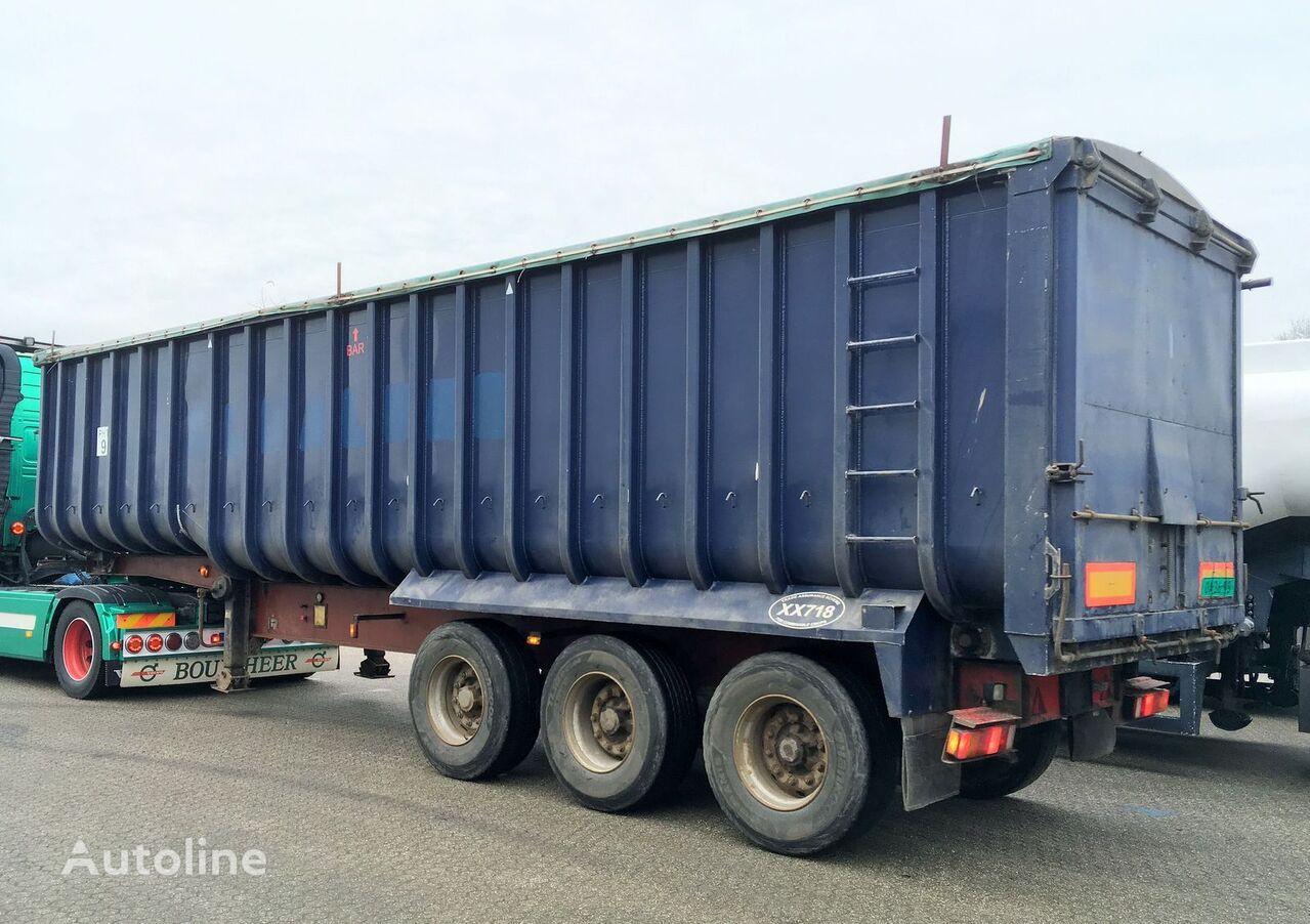 Kipper - Fruehauf 49m3 ALU/Steel - Cover grain truck semi-trailer