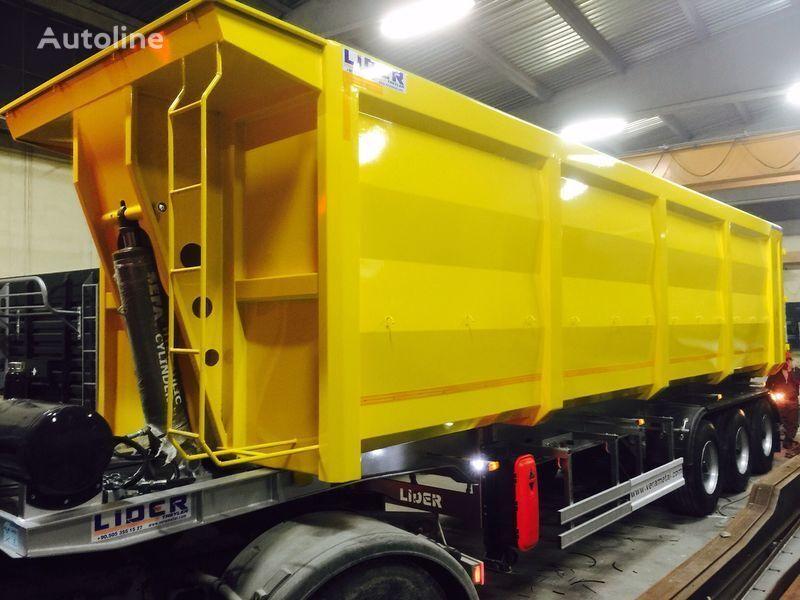 new LIDER 2020 NEW TRAILER MANUFACTURER COMPANY grain truck semi-trailer