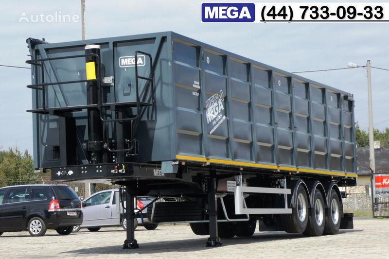 new MEGA 11,4 m / V = 55 m³ ctalovyy kuzov klapan-dverey / Luk dla zerna! grain truck semi-trailer