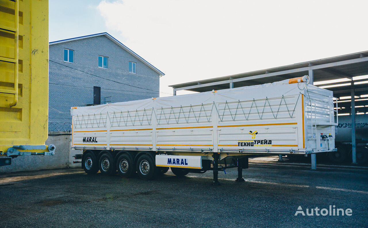 new Maral Trailer grain truck semi-trailer