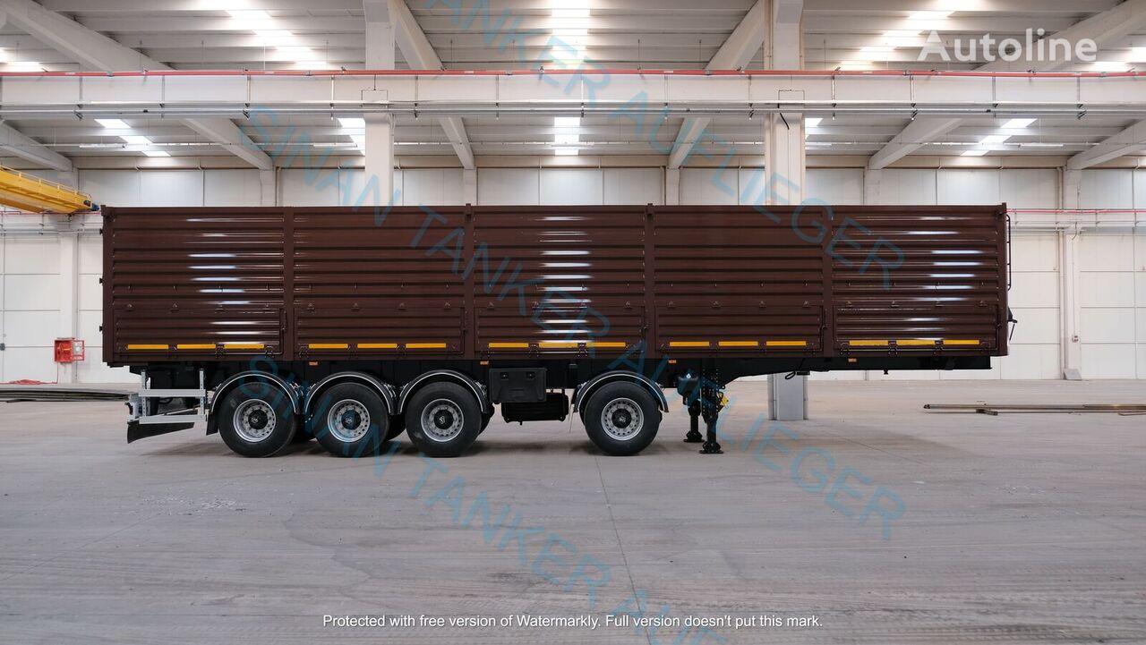 new SINAN TANKER-TREYLER Grain Carrier -Zernovoz- Auflieger Getreidetransporter grain truck semi-trailer