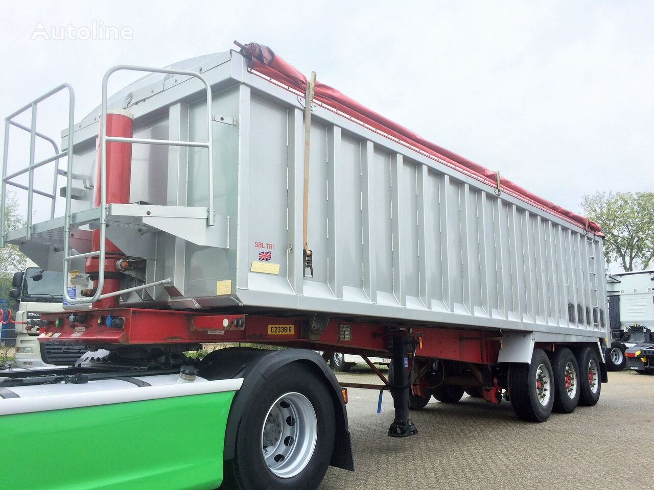 Weightlifter 47m3 ALU/STEEL grain truck semi-trailer
