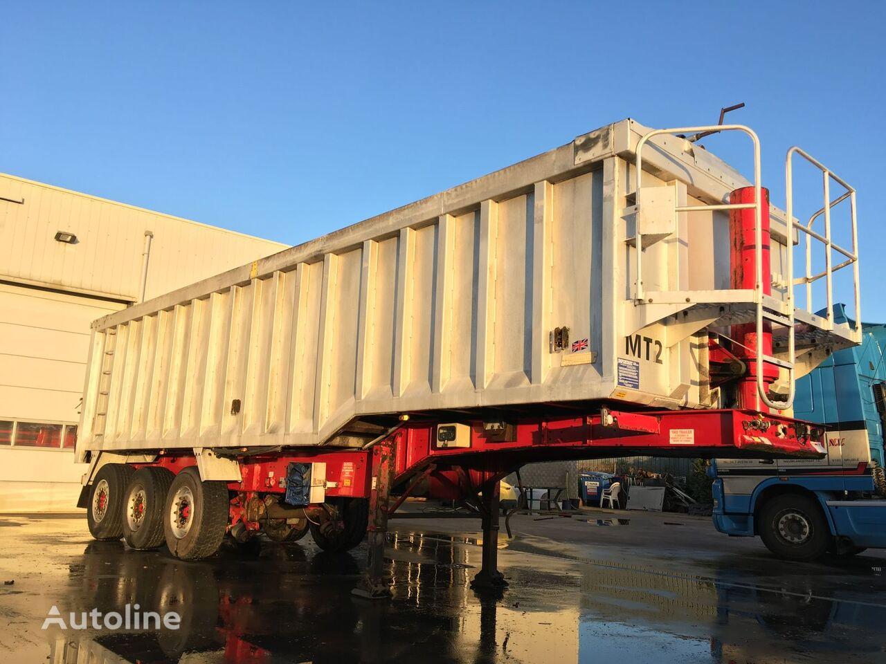 Weightlifter Tipper 43m3 grain truck semi-trailer