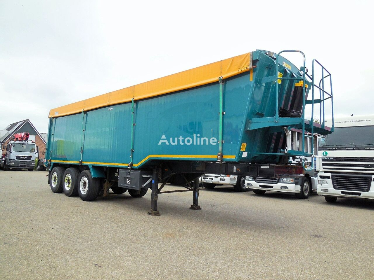 Weightlifter Tipper 51m3 - alu + steel chassis grain truck semi-trailer