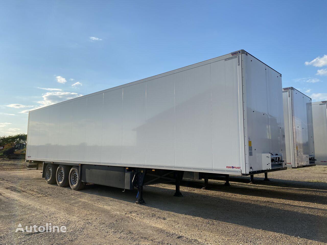 new SCHMITZ CARGOBULL isothermal semi-trailer