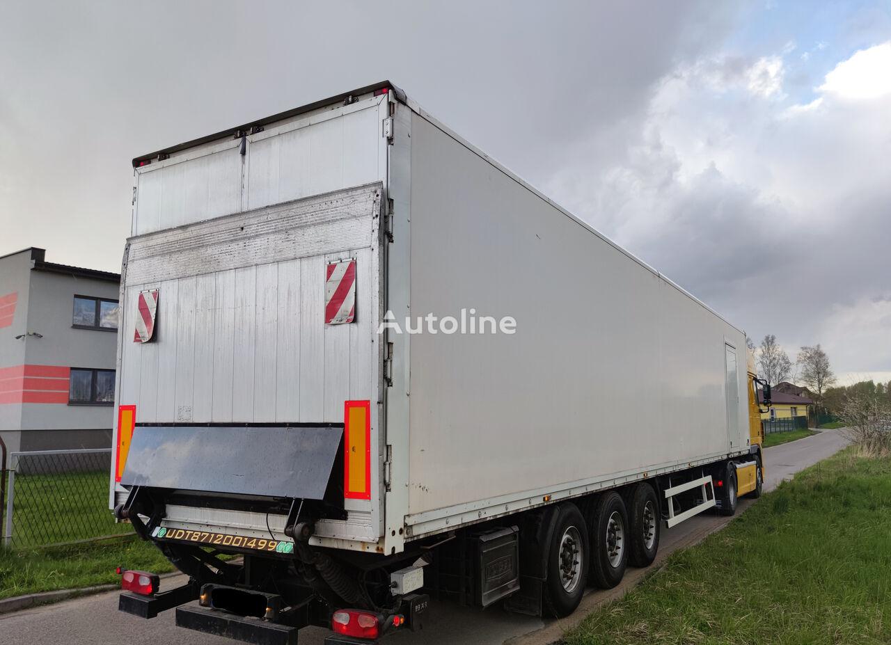 KÖGEL IZOTERMA, WINDA BAR CARGOLIFT MERCEDES TARCZA isothermal semi-trailer