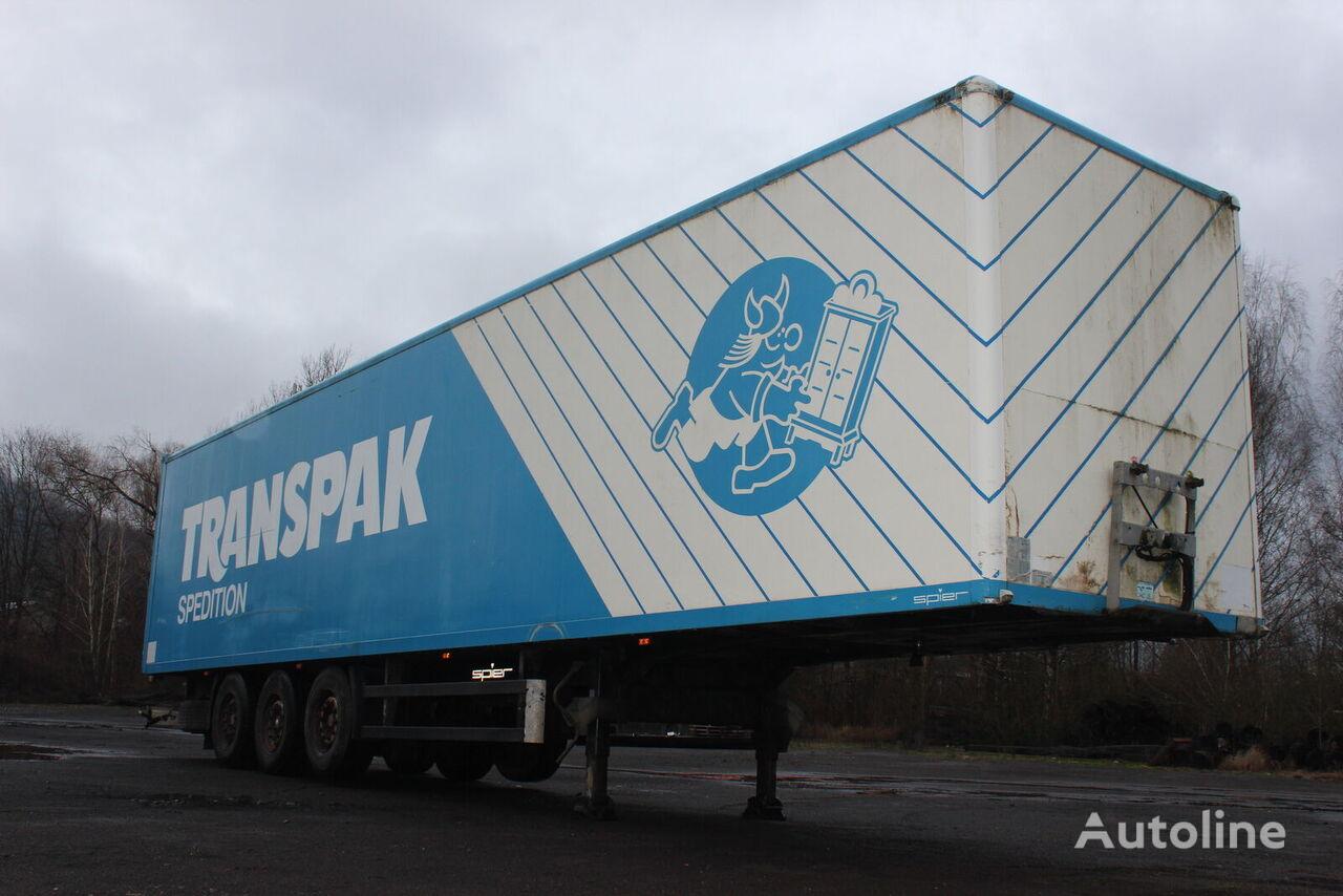 SPIER saf isothermal semi-trailer