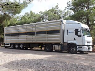 new GuteWolf универсальный  livestock semi-trailer