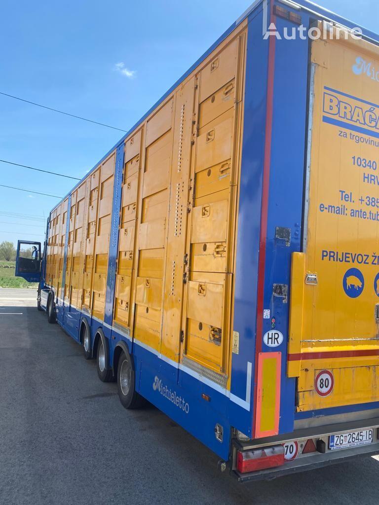 MICHIELETTO 4deck livestock semi-trailer