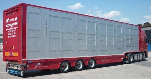 new MICHIELETTO AM19 livestock semi-trailer