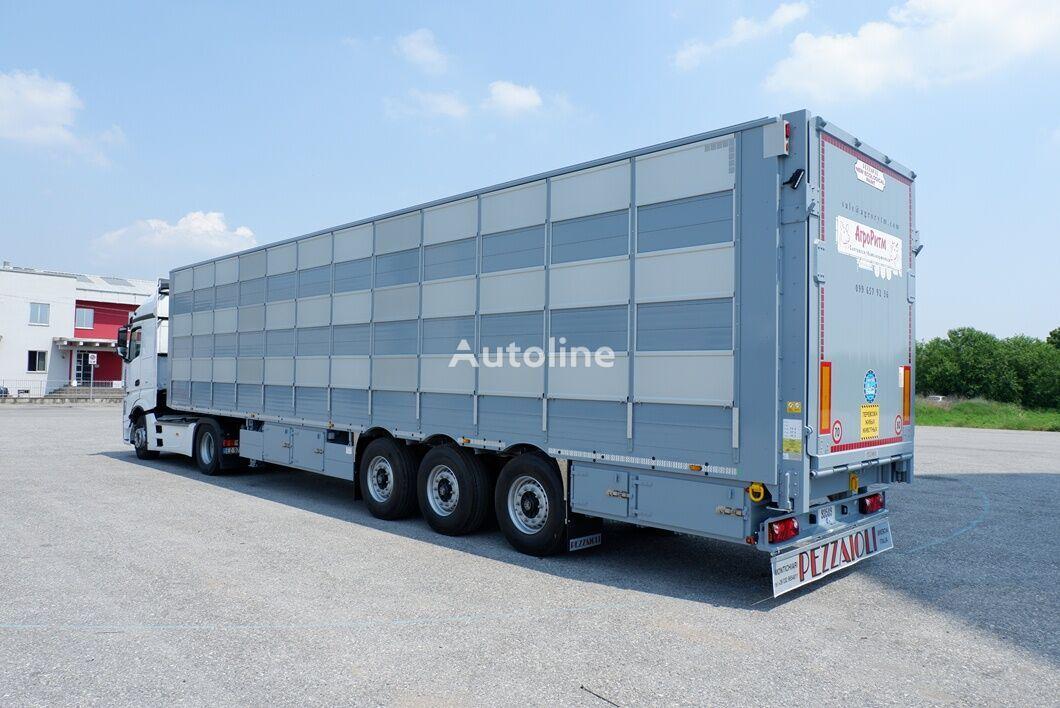 new PEZZAIOLI SBA63 (u nayavnosti, v Kievi) livestock semi-trailer