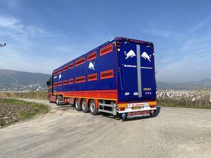 new ALAMEN livestock transport trailer livestock semi-trailer