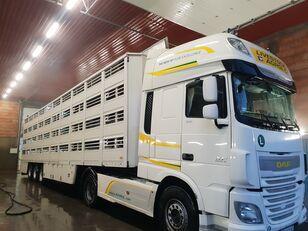 BERDEX OS 12.27 livestock semi-trailer