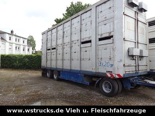MENKE 2 Stock Spindel livestock semi-trailer