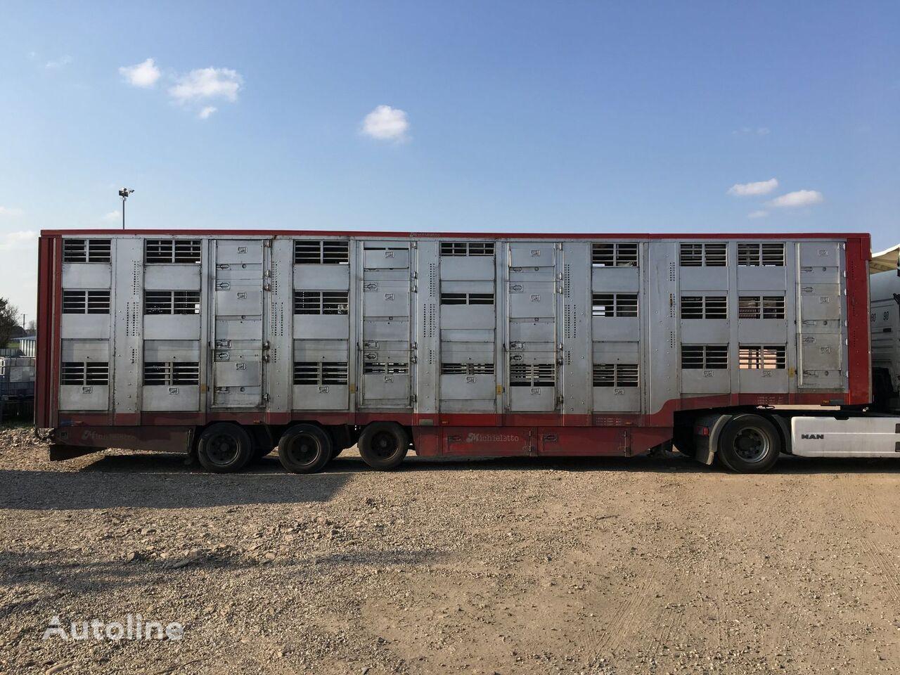 MICHIELETTO livestock semi-trailer