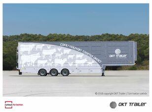 new OKT TRAILER LIVESTOCK SEMI TRAILER livestock semi-trailer