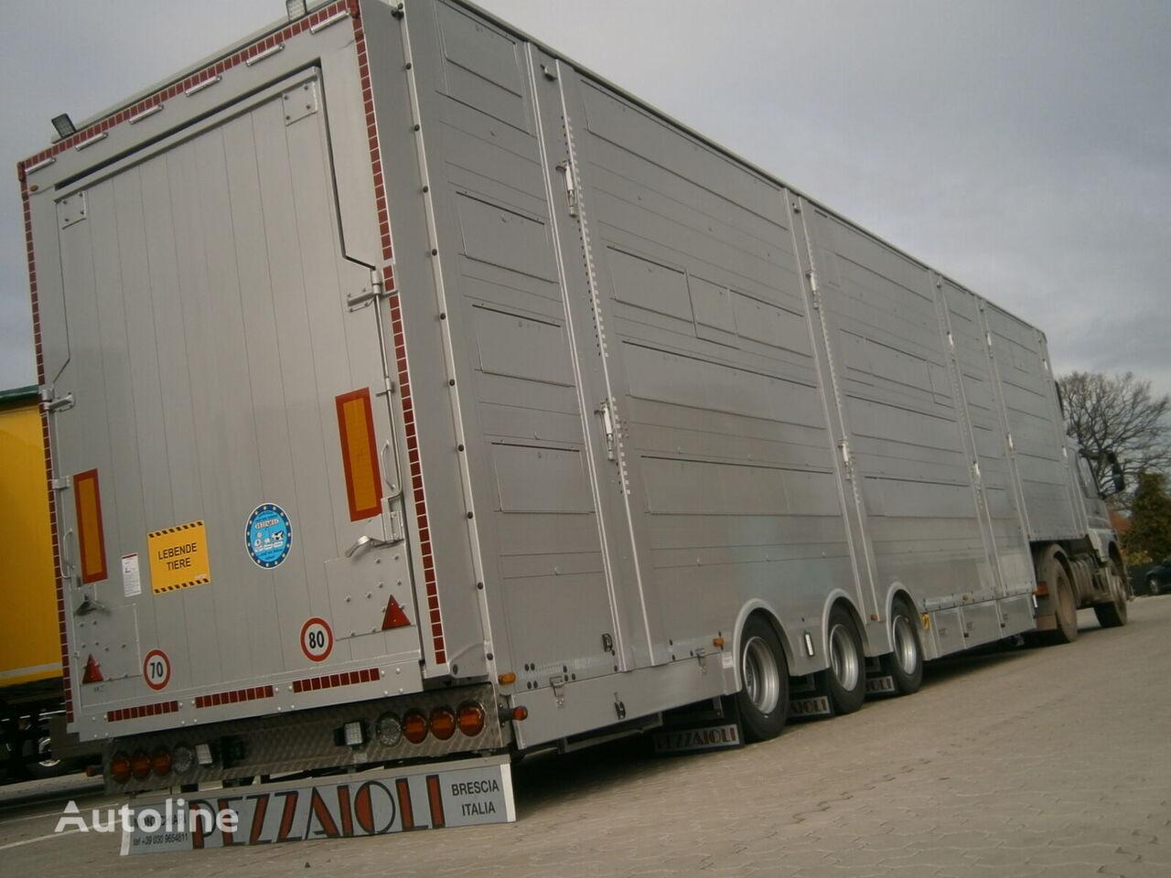 new PEZZAIOLI SBA31-SR verfügbar SOFORT livestock semi-trailer