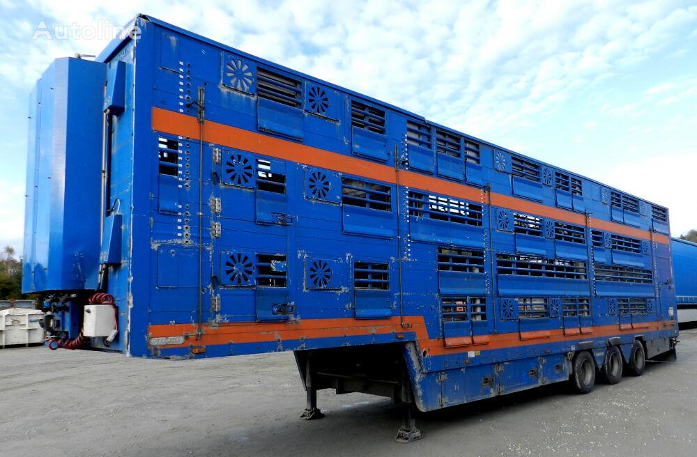 PEZZAIOLI SBA31U  For animal transport livestock semi-trailer