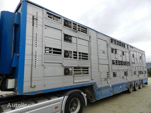 PEZZAIOLI SBA32 livestock semi-trailer