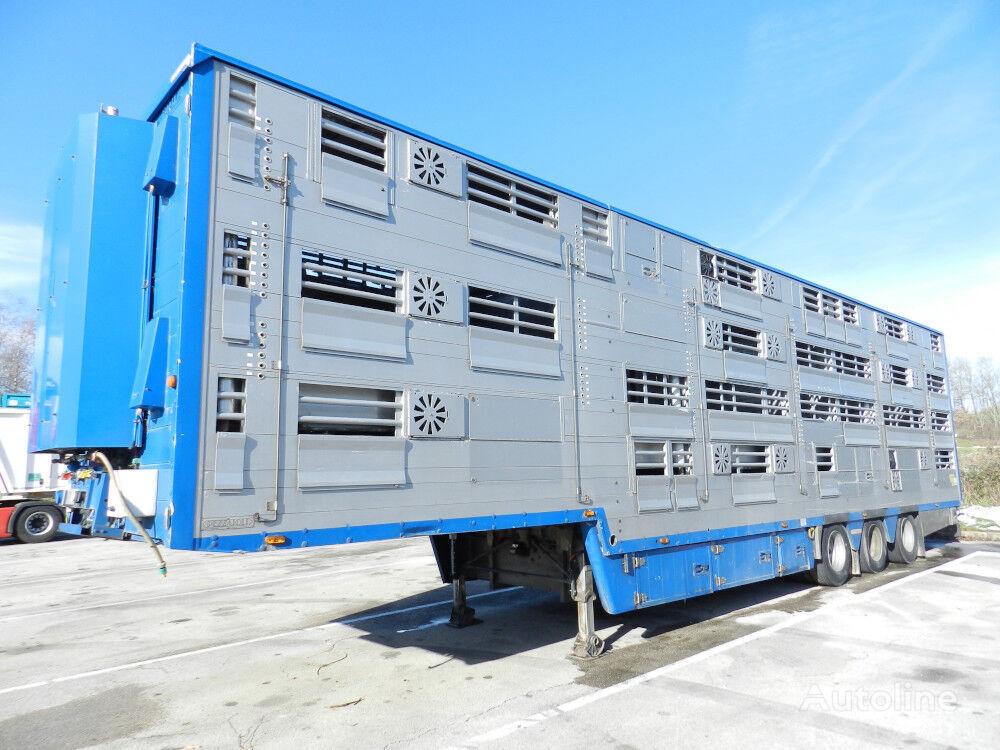 PEZZAIOLI SBA32  3+3+3  for animal transport livestock semi-trailer