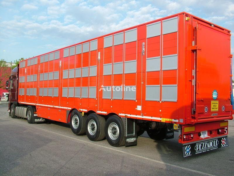 new PEZZAIOLI SBA63 3 etazha zagruzki livestock semi-trailer