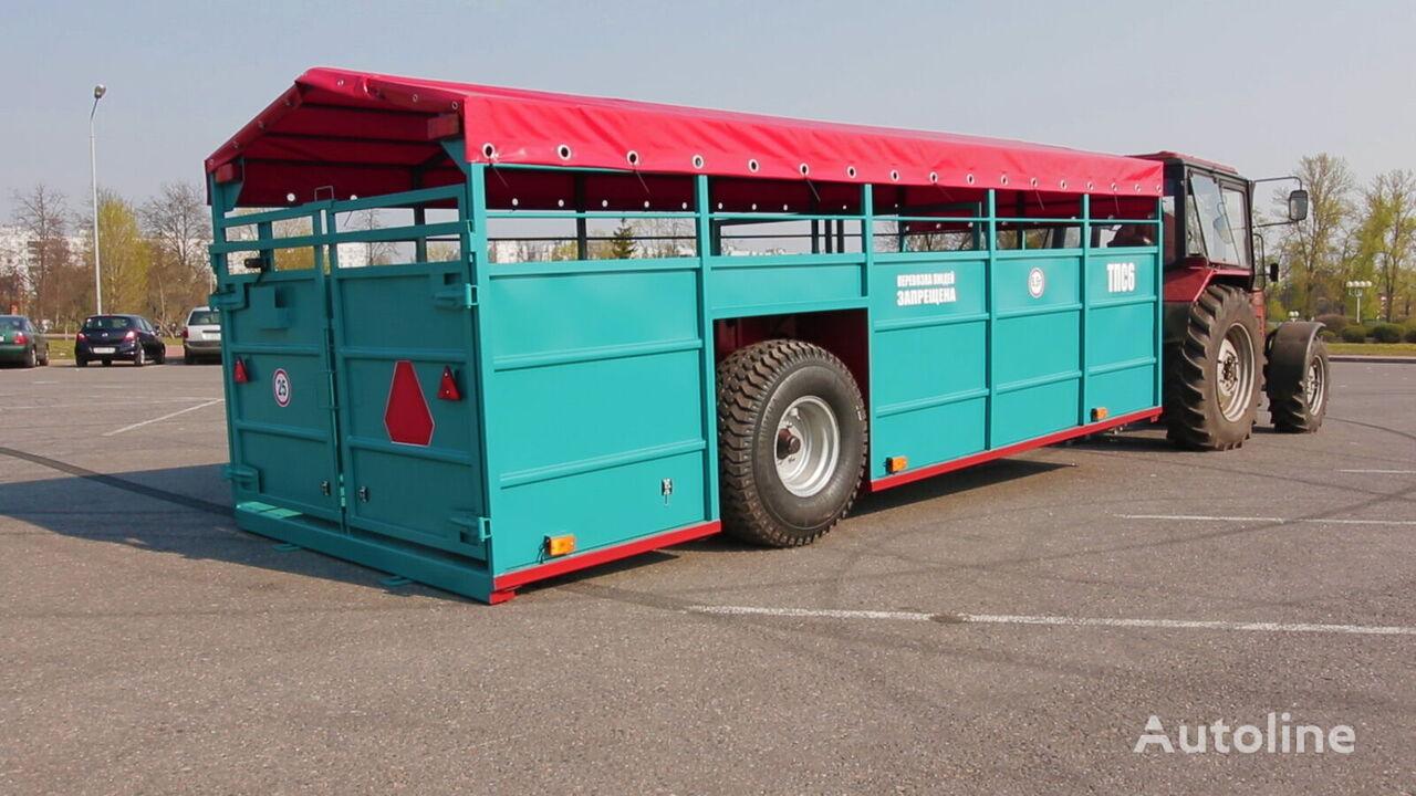 new Zavod Spetsavtotechnika TPS6 livestock semi-trailer