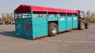 new Zavod Spetsavtotechnika ТПС6 livestock semi-trailer