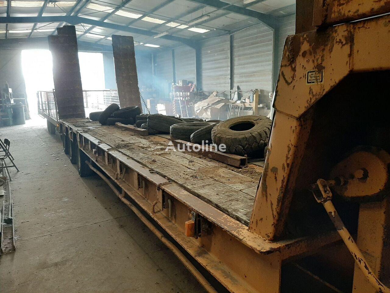 ACTM 3 ESSIEUX  - 55 T low bed semi-trailer