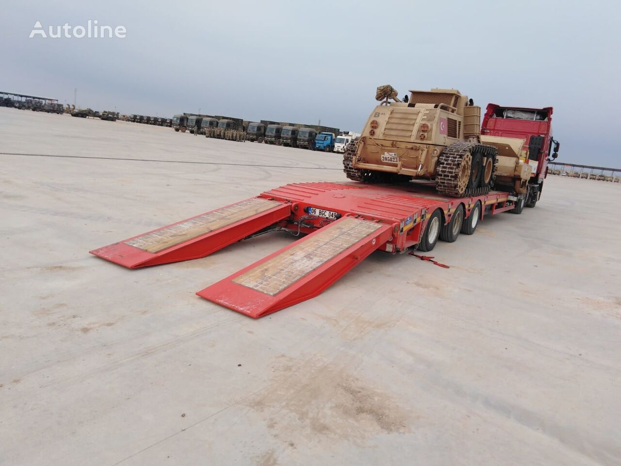 new ALTINORDU PRODUCER SINCE 1972, 3 AXLE , AIR SUSPENSION LOWBED low bed semi-trailer