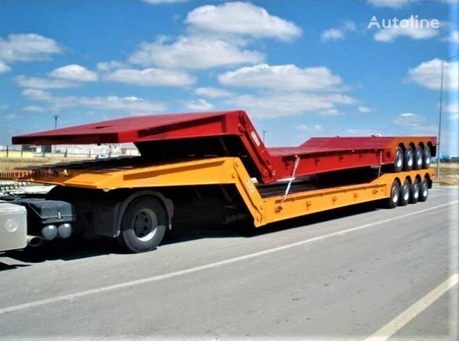 new AME 120 Ton 4 Axle Front Loading Lowbed Semi-Trailer low bed semi-trailer