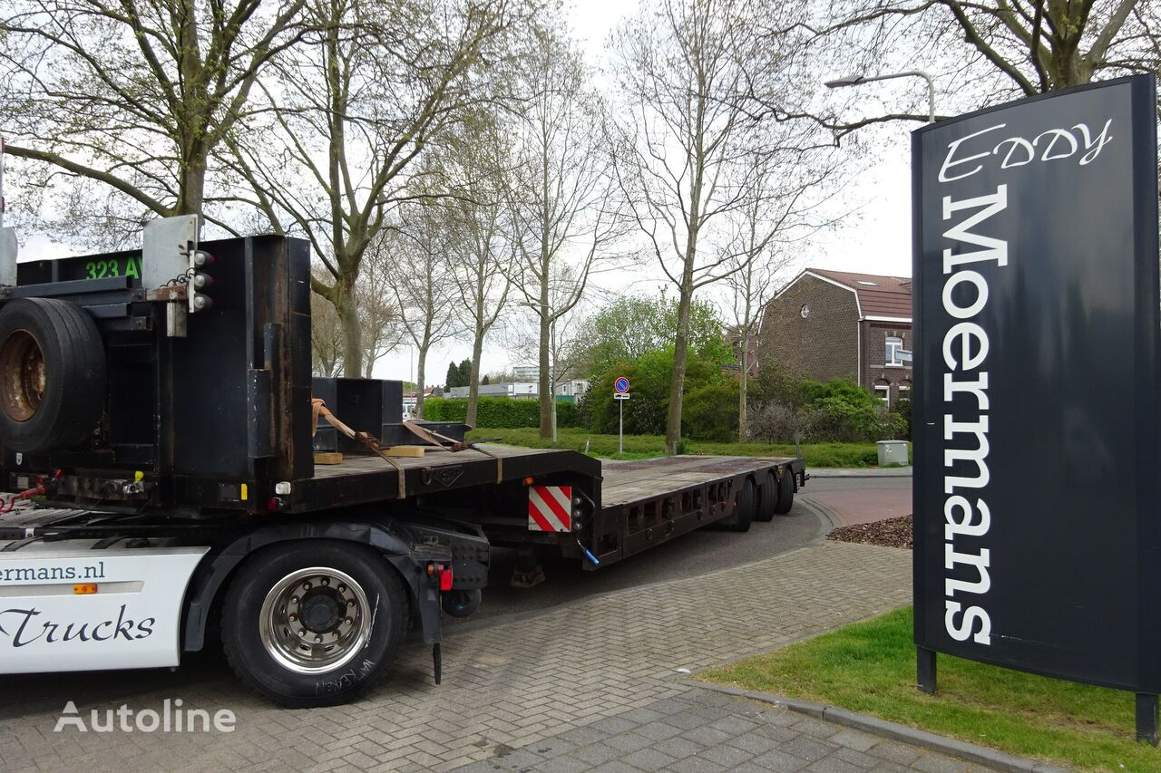 BROSHUIS 3 ABSD 36 Tele + Wheelcoils low bed semi-trailer
