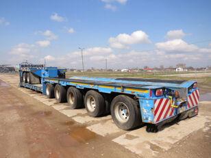 BROSHUIS NS 600 , 5 axles + 2 axles dolly , GVM 75,000KG , 5x steer axle  low bed semi-trailer