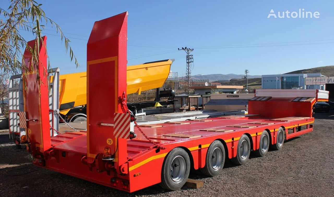 new CEYLAN 5 AXLES LOWBED low bed semi-trailer