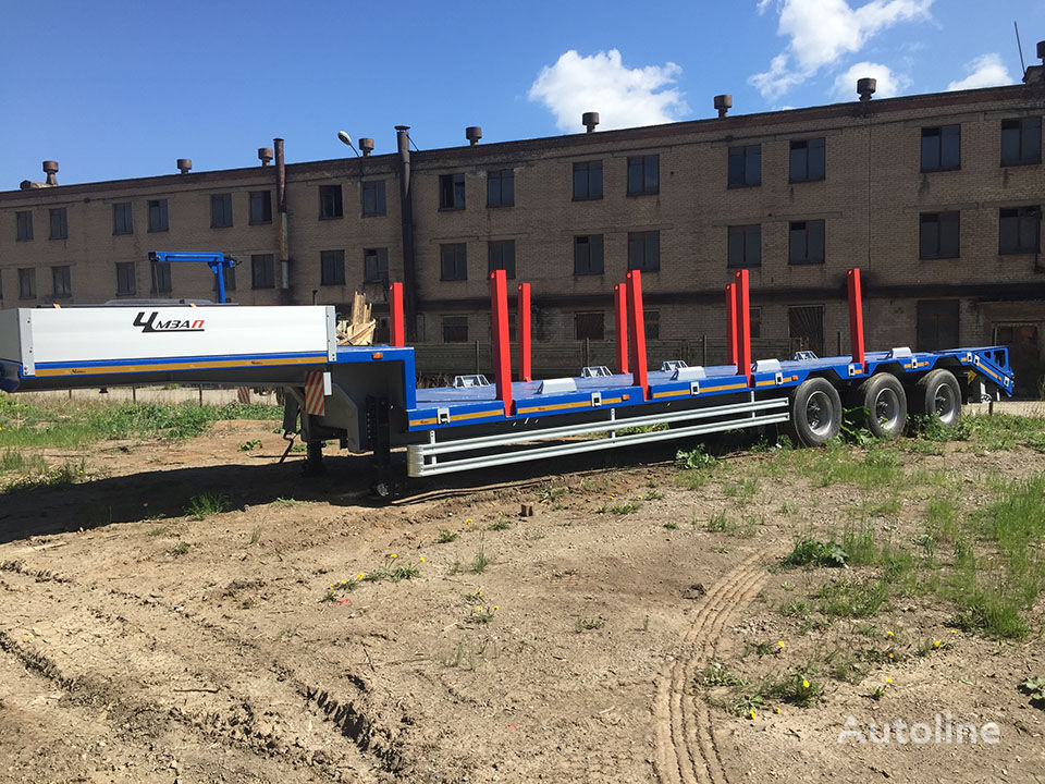 new CHMZAP 99064-081-KKTG low bed semi-trailer