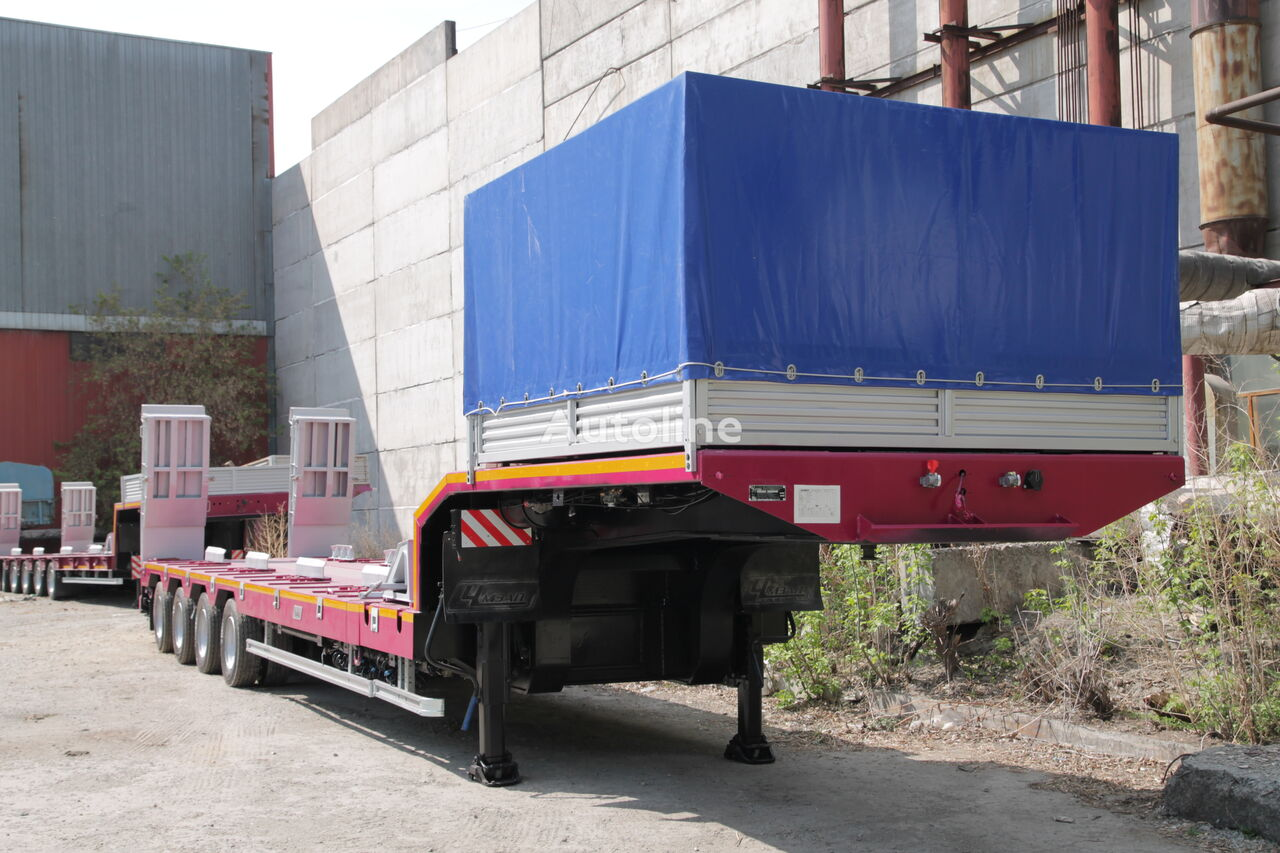new CHMZAP 99903-035-T low bed semi-trailer
